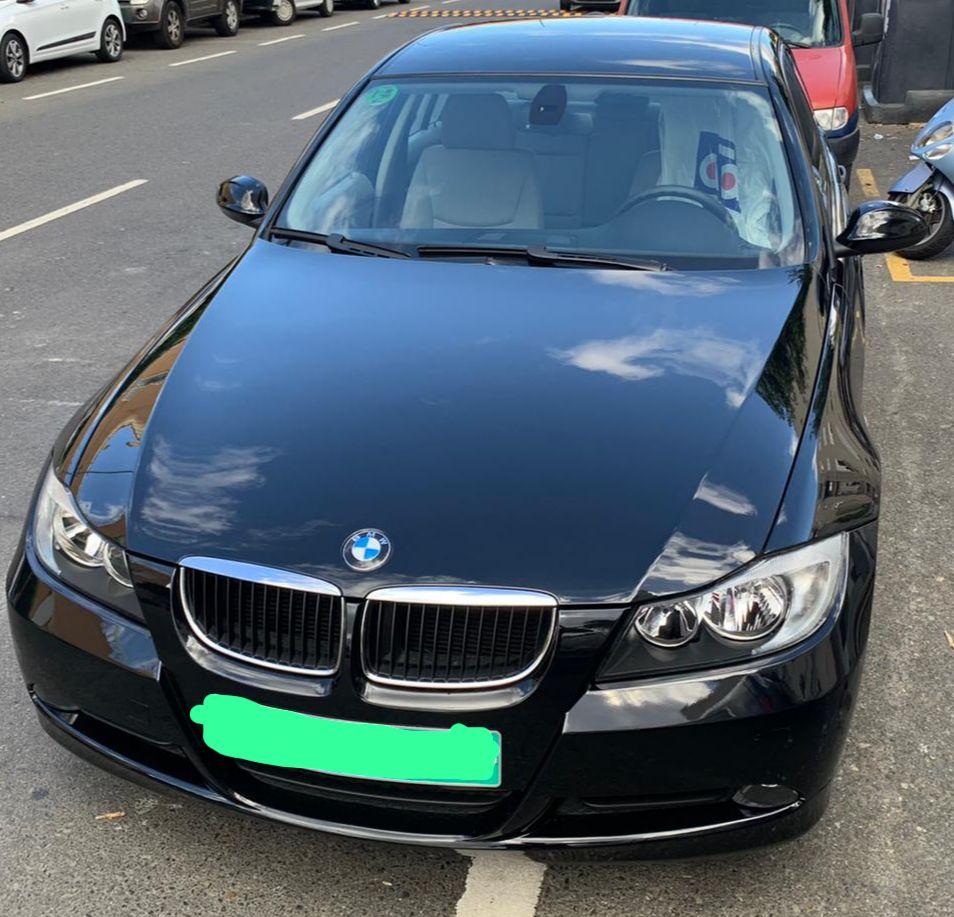 Reparación chapara y pintura BMW 318